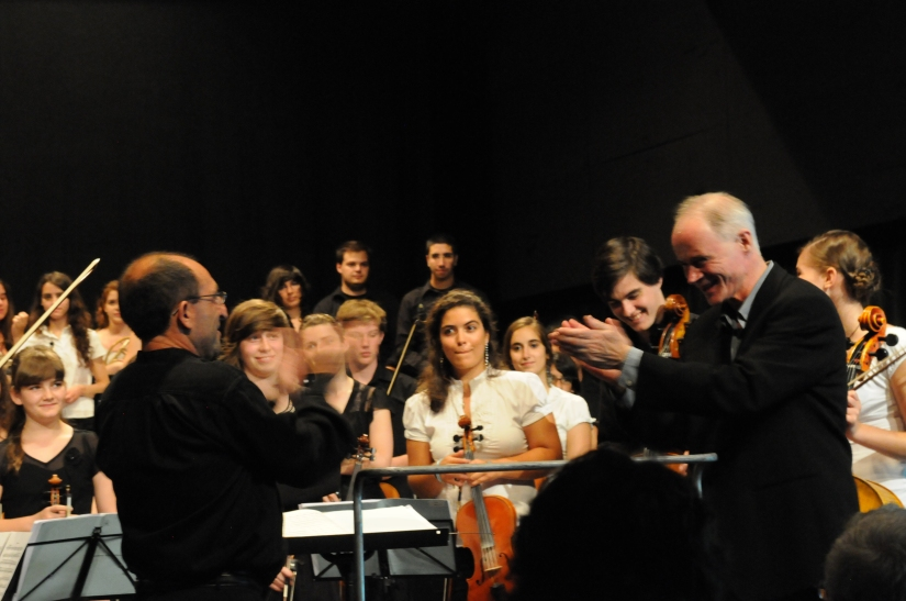 MSE and Escola de Musica concert, Sines